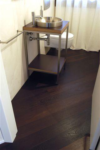 Le realizzazioni di veneto parquet pavimenti in legno - Parquet teak bagno ...